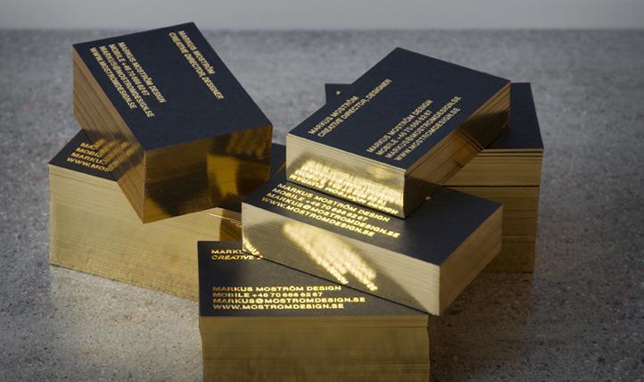 Markus Moström Design Super Schöne Goldschnitt